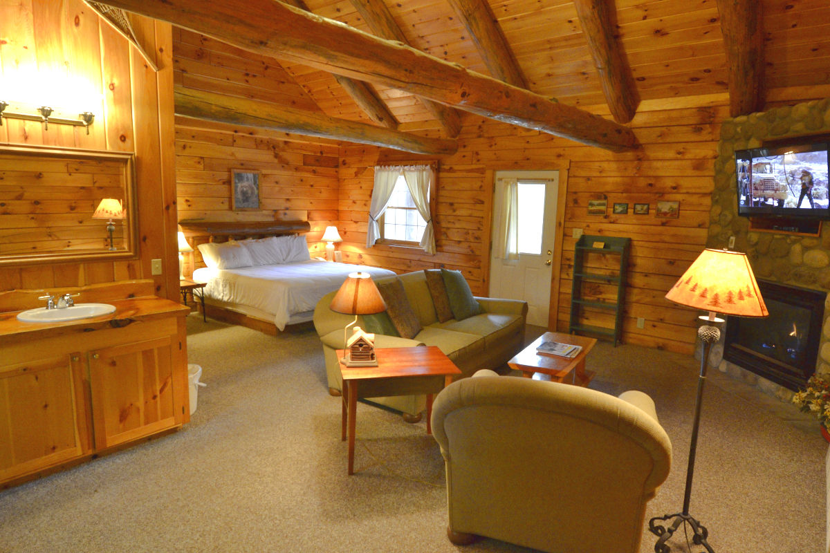 the in node real winter cabins with island this cabin or kitchen log romance littletonnh a romantic of nh home celebrate