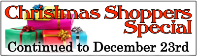 Christmas presents special rates for you